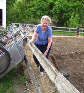 2015_5_12 Harriet weeding